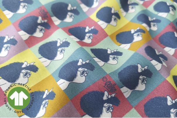 Algodón Mc Mafalda Cuadros