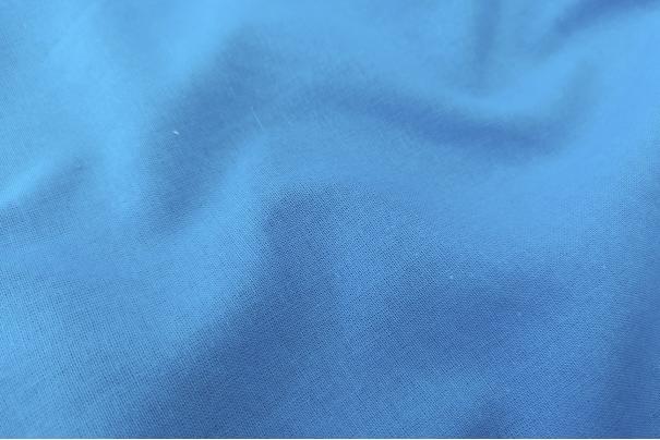 Algodón Liso Nt Azul Turquesa