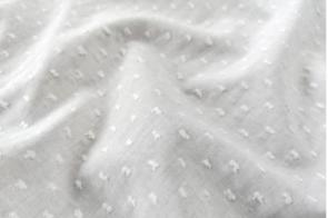 Plumeti Liso Blanco