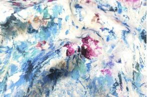 Mikado Bora Flores Azul