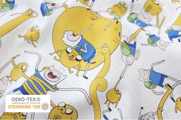 Loneta Half Panamá Adventure Time 280cm