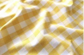Algodón Cuadros NT Amarillo...