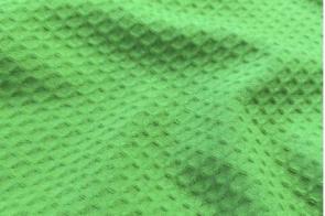 Piqué Waffle Verde