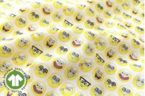 Algodón Mc Bob Esponja Emoji