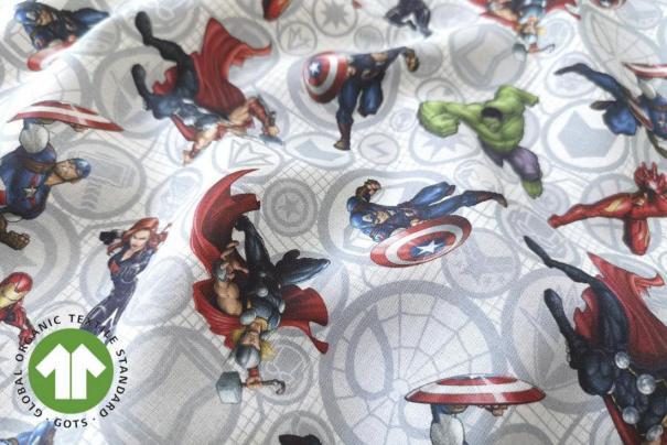 Algodón Mc Marvel Comics Los Vengadores